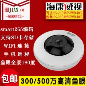 Hikvision 300/500 million fisheye panorama day and night surveillance network camera DS-2CD3935FWD-IWS