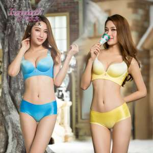 Huabo to the big discount ice cream section underwear bra women's suit without steel ring gather sexy adjustment ultra-thin