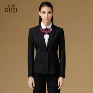 Guji 2017 spring and autumn loaded new Korean Slim long sleeve small suit jacket business professional suit
